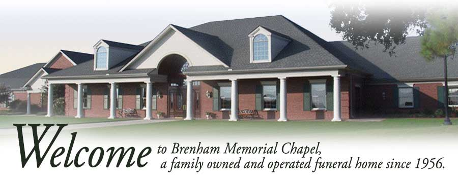 Welcome to Brenham Memorial Chapel a family owned and operated funeral home since 1956.